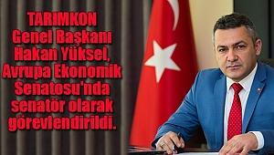 Avrupa Ekonomik Senatosu'nda Bir Türk
