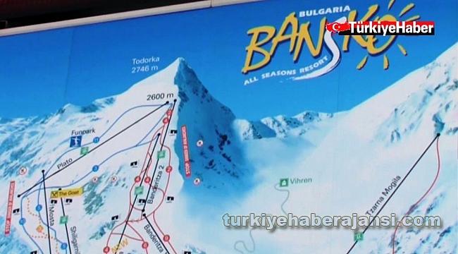 Bulgaristan'da Kayak Merkezleri Turist Dolup Taşıyor
