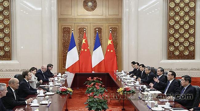 Çin İle Fransa İşbirliğini Genişletiyor