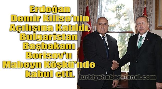 Cumhurbaşkanı Erdoğan, Demir Kilise'nin Açılış Töreninde Konuştu