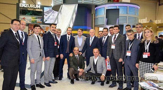 EMITT 2018'de Erzurum'un Kış Turizmi Vurgusu Öne Çıktı