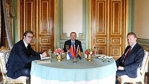Erdoğan, Vucic ve İzzetbegoviç ile Bir Araya Geldi
