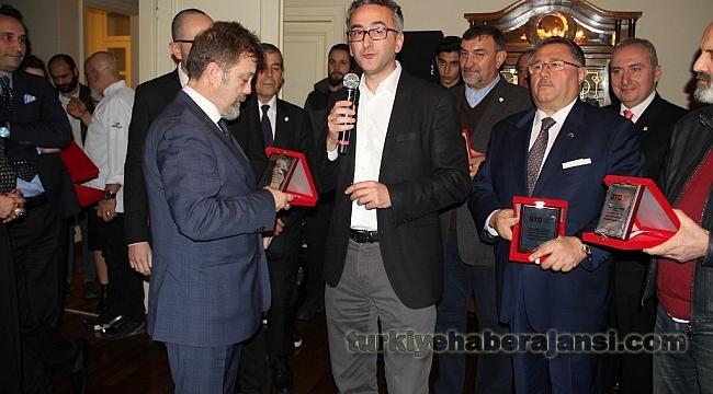 Gastronomi Dünyası'na Değer Katanlar Ödülleri Verildi