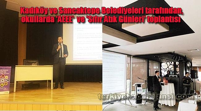 Kadıköy ve Sancaktepe'de 'Sıfır Atık ve AEEE' Çalışmaları