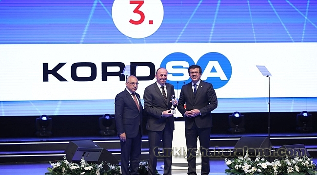 Kordsa'ya, İnovasyon Stratejisinde Üçüncülük Ödülü
