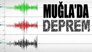 Muğla'da 3,6 Şiddetinde Deprem Oldu!