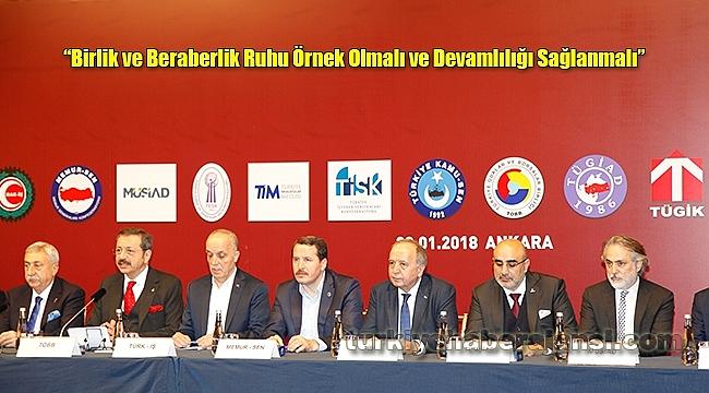 'Türkiye Afrin İçin Tek Yürek'