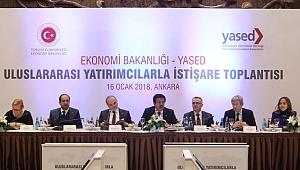 Uluslararası Yatırımcılarla İstişare Toplantısı
