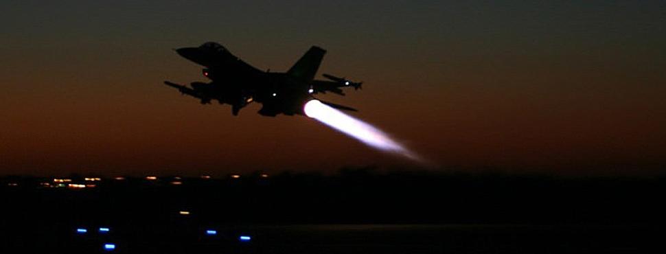 ABD Jetleri YPG'yi Vurdu