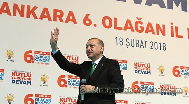'AK Parti'nin Ankara'da Yerinde Saymasını Asla Kabul Edemeyiz'