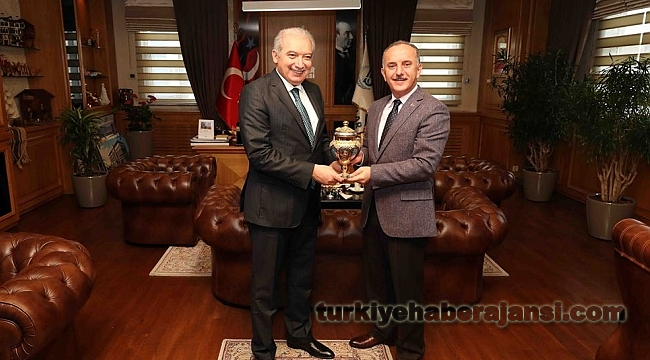 Başkanı Uysal'dan Bağcılar Belediyesi'ne Ziyaret