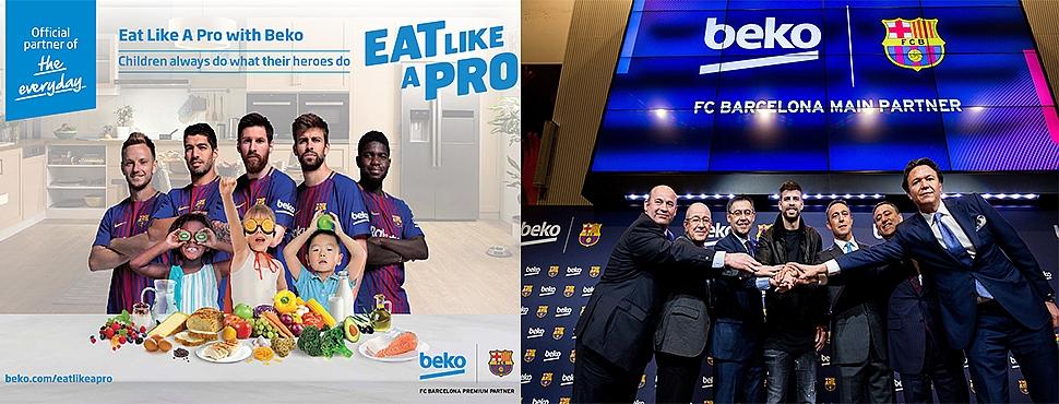 BEKO; FC BARCELONA'nın Global Ana Sponsoru