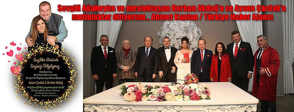 Burhan Akdağ, Hayatını Aysun Çardak ile Birleştirdi