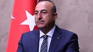 Çavuşoğlu: PKK-YPG'yi Korumalarına Fırsat Vermeyiz