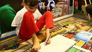 Engelli Ressamlar Yeteneklerini Yarıştıracak