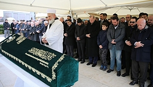 Erdoğan, Bekir Sıtkı Albayrak'ın Cenaze Törenine Katıldı