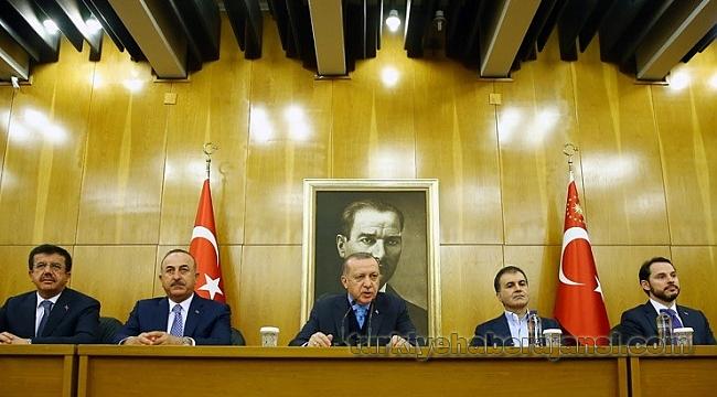 Erdoğan, Vatikan Ziyareti Öncesinde Basın Toplantısı Düzenledi