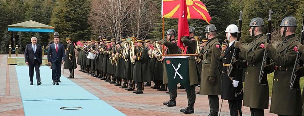 Makedonya Başbakanı Zoran Zaev, Çankaya Köşkü'nde