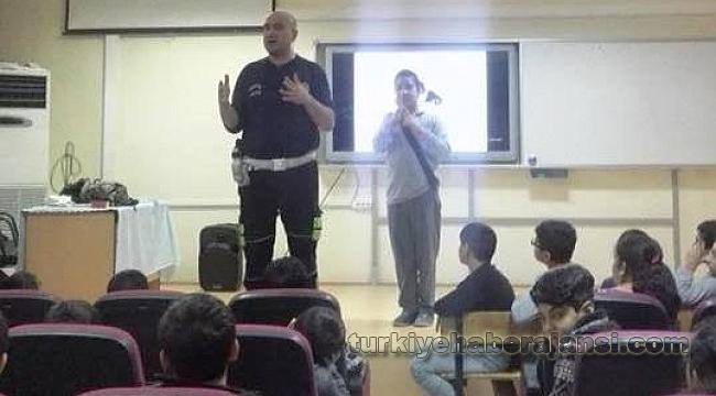 Öğrencilere 'Trafik Dedektifi' Eğitimi Verildi