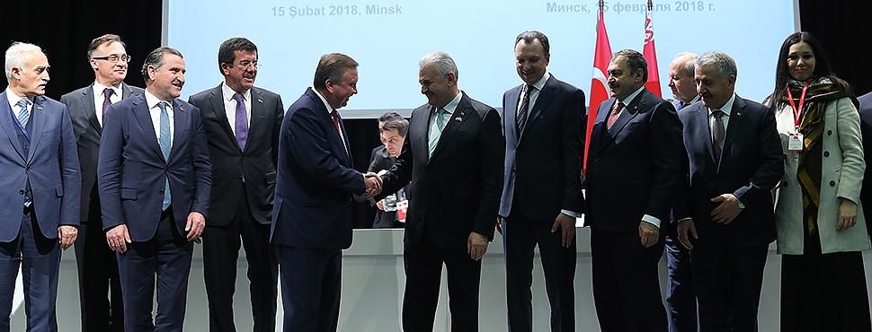 TÜRKİYE-BELARUS Ekonomik İlişkilerinde 6 Anlaşmalık Yeni Dönem