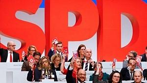 Almanya'da SPD'nin Bakanları Belli Oldu
