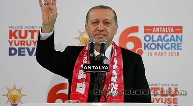 Cumhurbaşkanı Erdoğan: ' Mehmetçik Afrin'e Girdi Giriyor'