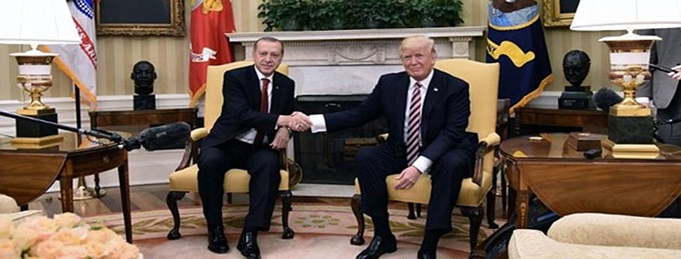 Erdoğan ve Trump Arasında Telefon Görüşmesi