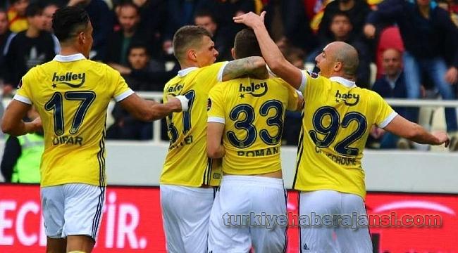 Evkur Yeni Malatyaspor Fenerbahçe: 0-2
