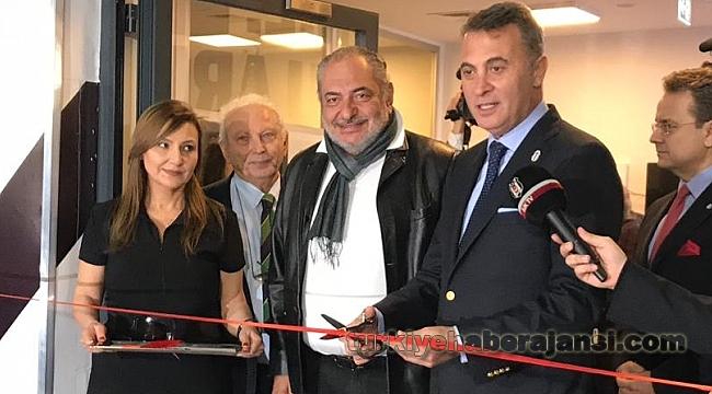 Fikret Orman Beşiktaş TV'nin Açılışını Yaptı