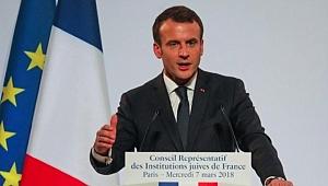 Macron: Kudüs'te Trum'ın Hatasına Düşmeyeceğim