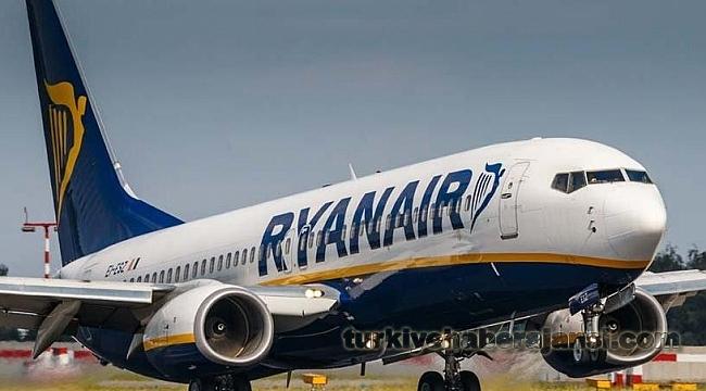 Ryanair Türkiye'ye İlk Uçuşunu Başlattı