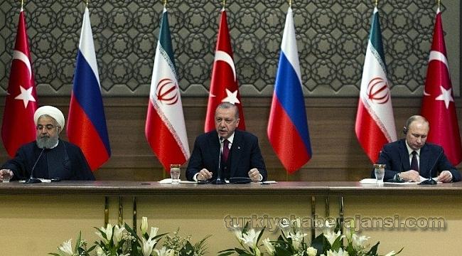 3'lü Zirvede Erdoğan'dan Yeni Harekat Sinyali