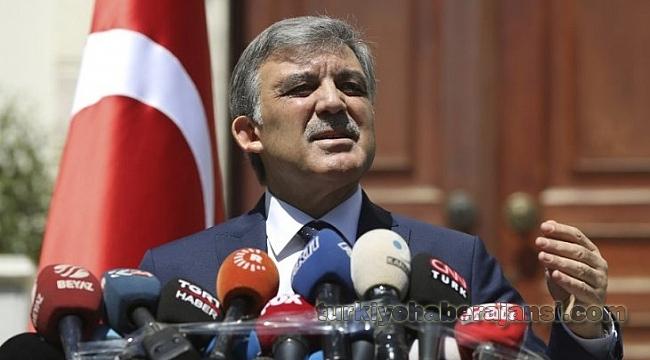 Abdullah Gül: Adaylığım Söz Konusu Değil