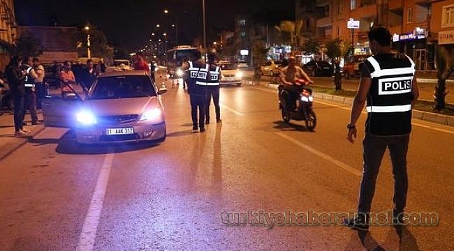 Adana'da Hava Destekli Dev Asayiş Uygulaması