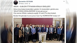 AKP'li Başkandan Kadın Vekile Çirkin Yakıştırma
