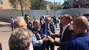 AKP'li Belediye CHP'nin Seçim Çadırına Müdahale Etti
