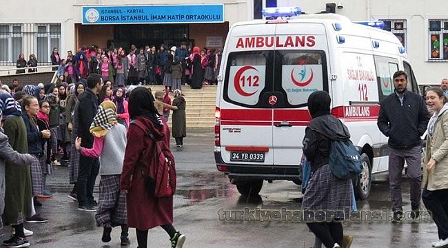 Kartal'da Okuldaki Yangın Öğrencileri Korkuttu