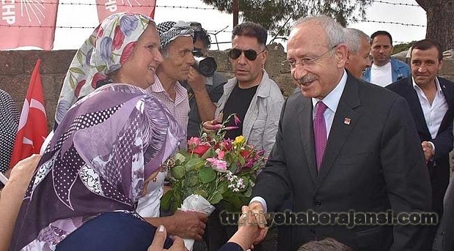 Kemal Kılıçdaroğlu Antalya'dan Sonra İzmir'e Geçti