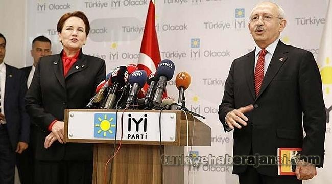 Kılıçdaroğlu Akşener'i Ziyaret Etti