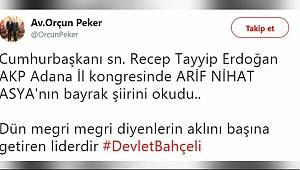 MHP'li Başkandan 'Megri' Çıkışı