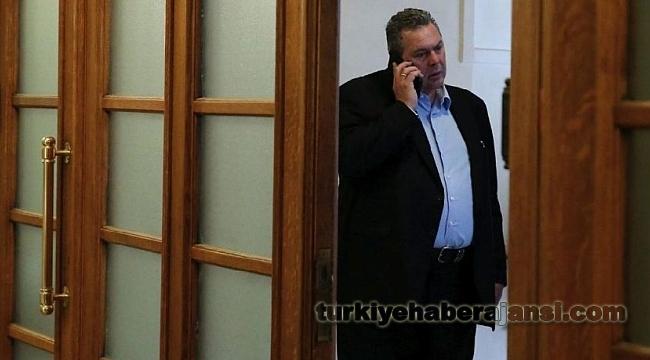 Skandal Yunan Bakandan Erken Seçim Açıklaması