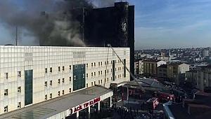 Taksim İlk Yardım'da Korkunç Yangın!