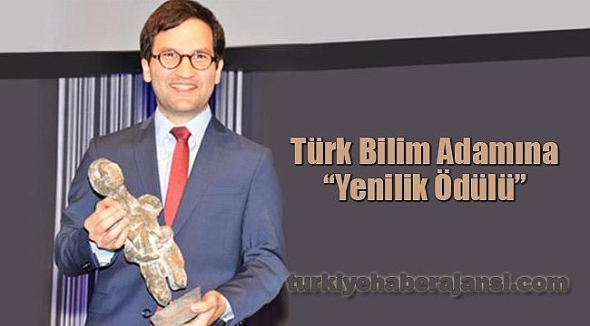 Türk Bilim Adamına 'Yenilik Ödülü'