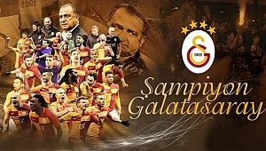 2017 - 2018 Şampiyonu Galatasaray
