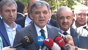 Abdullah Gül'den Hulusi Akar Açıklaması