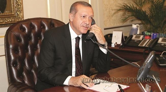 Cumhurbaşkanı Erdoğan'dan Kritik Telefon Görüşmesi