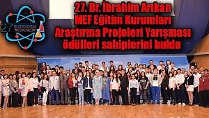 Dr. İbrahim Arıkan MEF Ödülleri Sahiplerini Buldu