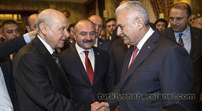 Erdoğan'ın Başvurusunu Yıldırım ve Bahçeli Yapacak