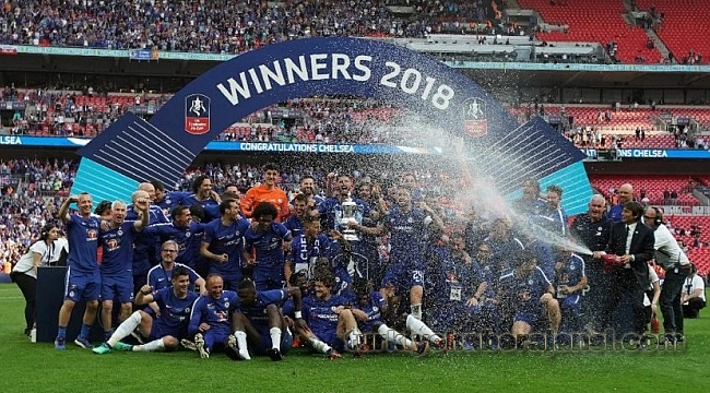 FA Cup'ta Gülen Chelsea Oldu