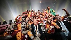 Galatasaray 21. Şampiyonluğunu Kutladı